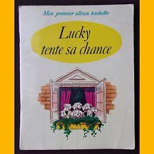 Collection Mon Premier Album Hachette LUCKY TENTE SA CHANCE 1968