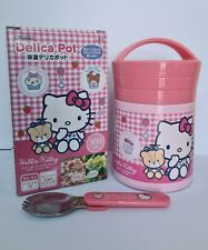 Hello Kitty Thermal Insulation Cold Insulation Delica Pot Lunch Box-Japan Import