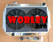 For HOLDEN Radiator&Fan HQ HJ HZ HX LH LX Kingswood Torana V8 253 308 RACE AT