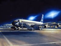 Boeing 707 BOAC Airliner Plane Aviation Painting Art Print