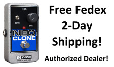 New Electro-Harmonix EHX Neo Clone Analog Chorus Guitar Effects Pedal