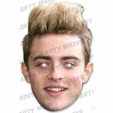 Jedward Celebrity Cardboard Mask - John Grimes Face Mask Single