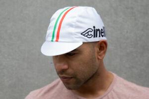 Pace Sportswear Hex-Tek Cycling Cap - UPF 50 Plus, Cinelli/White, One Size
