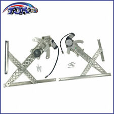 Power Window Motor Regulator Assembly Front Right Left Fit 97-98 Ford F-250 2PCS