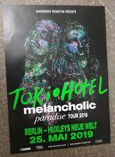 Tokio   Hotel    Konzertposter   2019  Berlin