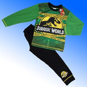 Boys Jurassic World Pyjamas Dinosaur  Age 4 5 6 7 8 9 10 Years