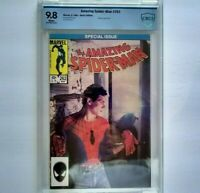 AMAZING SPIDER-MAN # 262 CBCS 9.8 ~ WHITE PAGES ~ like CGC ~ Marvel