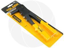 Heavy Duty Steel Hand Riveter Rivet Gun PVC Handle Fastener 3/32 1/8 5/32 3/16