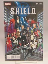 S.H.I.E.L.D. #1 001 Variant Cover  Marvel Comics vf/nm CB1291