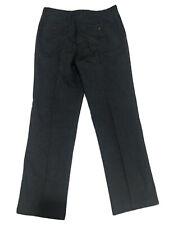JOHN LEWIS Charcoal Grey Trousers Pants Bottoms Chinos Mens 34R 32L / W34 VGC