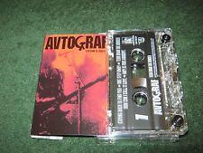 Autograf - Tear Down The Border (cassette)