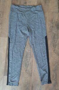 No Boundaries Women's Juniors XL 15-17 Leggings Yoga Pants Active Gray Black