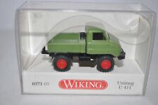 Wiking 0371 03 Unimog U411 Vehicle (Reseda Green) for Marklin -NEW w/BOX