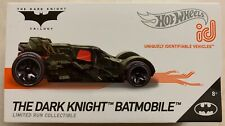 NEW HOT WHEELS 2019 ID THE DARK KNIGHT BATMOBILE LIMITED RUN COLLECTIBLE TOY CAR