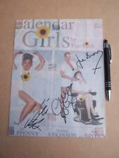 June Brown  Jill Halfpenny Gemma Atkinson    Autograph (FO6)  please scroll down