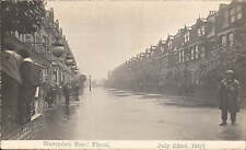 Turnpike Lane near Harringay. Hampden Road Flood July 22 1907.