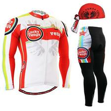 Fixgear Cs-G101 Set Cycling Jersey & Padded Pants Mtb Bike Bmx Beanie Free Gift