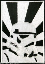 Storm Trooper Embroidered Iron on patch, Star Wars Character, Sci-Fi