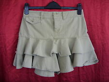 "Ladies Skirt - Ralph Lauren -age 16 30"" waist Short - Camel - 100% Cotton - 7392"