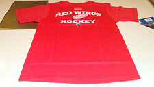 Detroit Red Wings Elite Authentic Center Ice NHL Hockey Players M T Shirt SS
