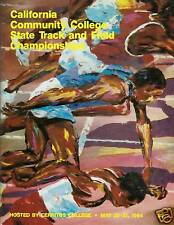 1994 CALIFORNIA COMMUNITY COLLEGE TRACK & FIELD PROGRAM