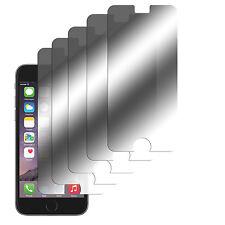 5 x  Spiegelfolie iPhone 6 6S Displayschutzfolie Folie Mirror Screen Protector
