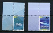 Français Polynésie 2004 #880-1 Information Technologie 2v. MNH M470