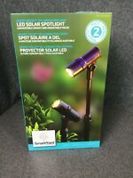 SmartYard LED Solar Spotlight 2 Pack - Convertible Height Adjustable Focus M37B