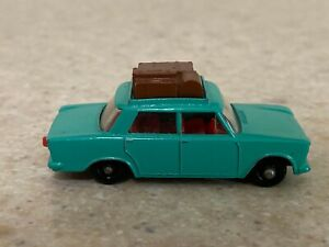 Matchbox Lesney Regular Wheels #56b Fiat 1500 in Type E3 Box