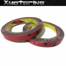 Two Rolls of 3M Double Side Acrylic Foam Adhesive Tape For Motor Body DIY Use