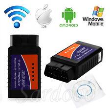 WiFi ELM327 OBDII 2 Interface Auto Diagnosegerät Scanner für Windows iOS Android