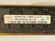 Hynix 8GB DDR3 1333MHZ PC3L 10600R 2RX4 1.35V ECC Reg DIMM Memory RAM