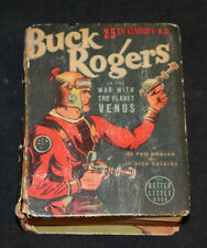 1938 Big Little Book Buck Rogers #1437 War With Planet Venus GD-