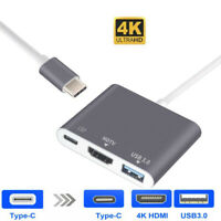 Type C USB 3.1 to HDMI HDTV USB-C USB 3.0 Adapter Converter For New Macbook Pro