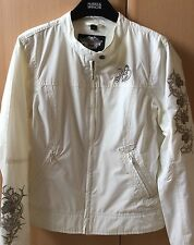 Harley Davidson Summer Wear Jacket Lightweight Cream
