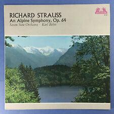 Richard Strauss - An Alpine Symphony, Op.64 - Saxon State Orch. Bohm - 89-594