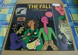 The Fall Grotesque (After The Gramme) Vinyl LP, textured sleeve. Rough Trade, UK