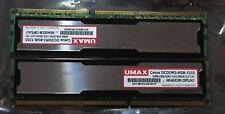 8GB (2x4GB) UMAX Cetus 1333MHz (PC3-10600), 1.5V,  Memory CL9