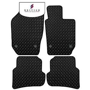 Seat Ibiza 2008-2017 Tailored 3mm Heavy Duty Rubber Car Floor Mats Black 4pc