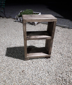 freestanding side table or bedside table