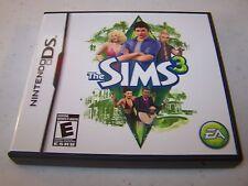 The Sims 3 Nintendo DS Lite DSi XL 3DS 2DS w/Case & Manual