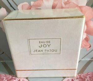 Vintage  Eau de Joy by Jean Patou Perfume Paris  Boxed, Sealed Unopened 48cc