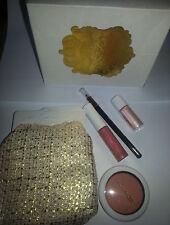 MAC BOMBONIERA faccia KIT Blush, Eyeliner, lipglass pigmento LTD ED NUOVO con scatola regalo di Natale