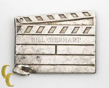 Tiffany & Co. Sterling Silver Clap Board Key Chain no Ring Engraved Memorabilia