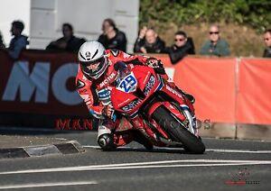 Guy Martin  Superstock bike 2017 Isle of Man TT A4 size photo