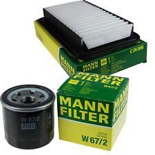 Mann-Filter Paquete Opel Agila Mk II B 1.2i 16V Opel Swift IV Fz NZ 1.3 Ddi