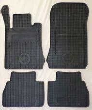 Gummifußmatten für Mercedes (W 210) E-Klasse (1995-2001) 4teilig