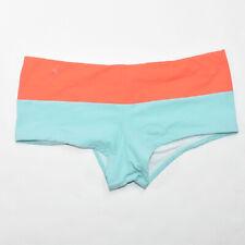 Letarte Luxury Swimwear Boy Shorts Swim Bottoms SIZE 6 Coral Aqua Women's