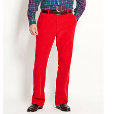 VINEYARD Vines PANTS 39 28 Red CORDUROY Christmas MENS Size CLUB Pant COTTON Men