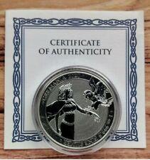 2020 Lady Germania & Eagle 1oz Silver Bullion coin in capsule with COA